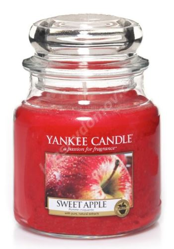 Vonná sviečka Yankee Candle SWEET APPLE