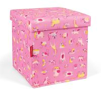 Úložný sedací box abc Reisenthel - friends pink