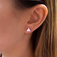 Náušnice KUKU EAR3S Triangle