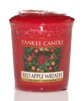Vonná svíčka Yankee Candle RED APPLE WREATH - votivní