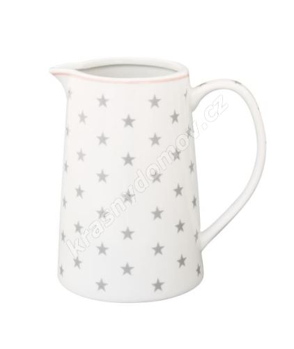 Porcelánový džbán Grey star 850 ml