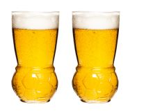 Sklenice na pivo  SAGAFORM Football Glass, 2ks